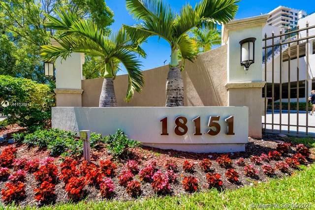 18151 NE 31st Ct #108, Aventura, FL 33160 (MLS #A11036211) :: The Howland Group