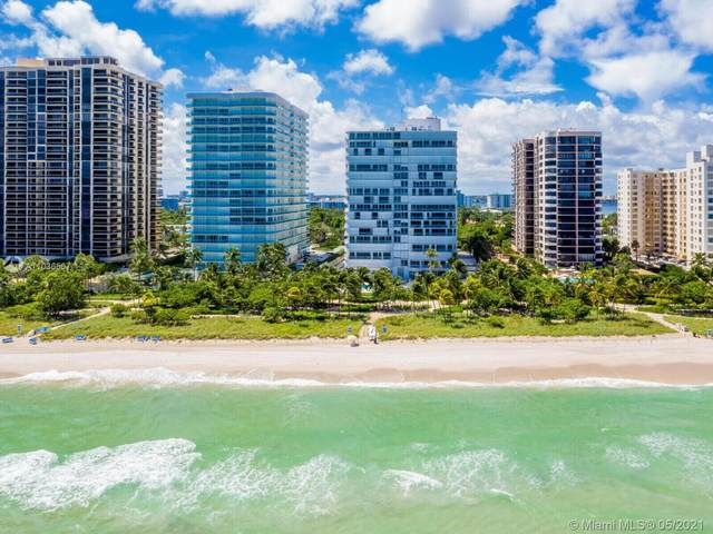 10155 Collins Ave #908, Bal Harbour, FL 33154 (MLS #A11036567) :: Equity Realty