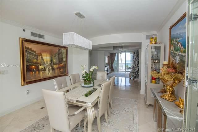 18911 Collins #606, Sunny Isles Beach, FL 33160 (MLS #A11037211) :: Berkshire Hathaway HomeServices EWM Realty