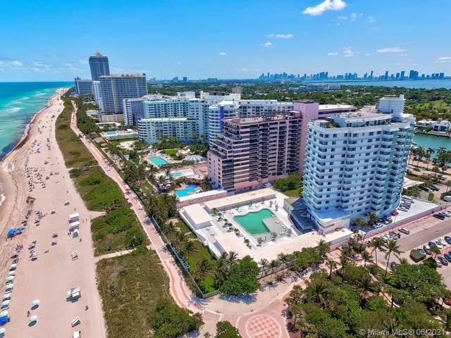5255 Collins Av 6J, Miami Beach, FL 33140 (MLS #A11042135) :: The Rose Harris Group