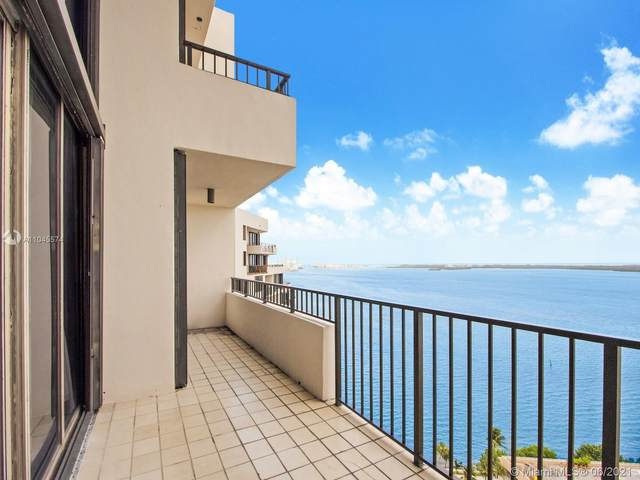 520 Brickell Key Dr Aph13, Miami, FL 33131 (MLS #A11045574) :: The Rose Harris Group