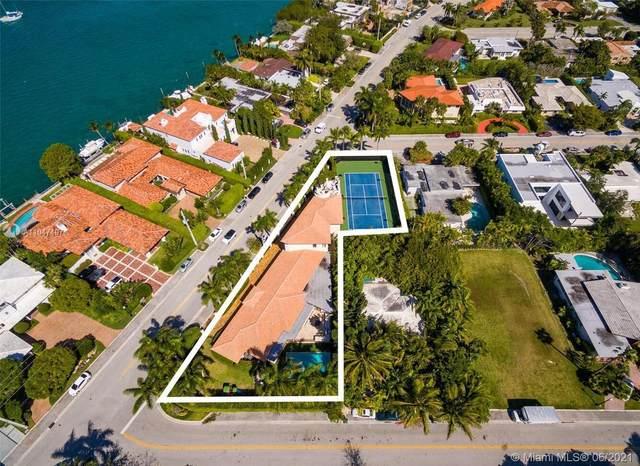 10055 W Broadview Dr, Bay Harbor Islands, FL 33154 (MLS #A11047497) :: Castelli Real Estate Services