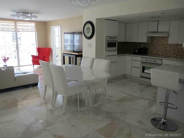 18061 Biscayne Blvd #1802, Aventura, FL 33160 (MLS #A11047880) :: Castelli Real Estate Services