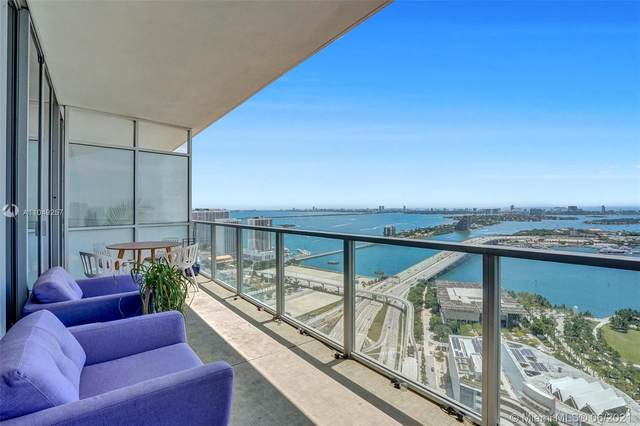 1100 Biscayne Blvd #3802, Miami, FL 33132 (#A11049257) :: Posh Properties