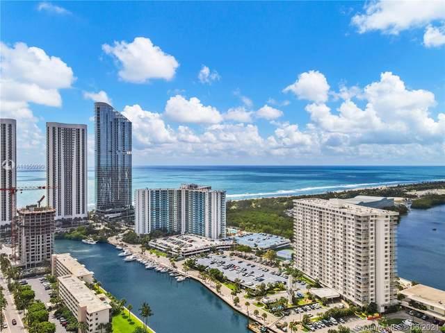 300 Bayview Dr #205, Sunny Isles Beach, FL 33160 (MLS #A11050290) :: GK Realty Group LLC