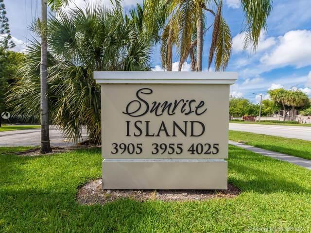 3955 N Nob Hill Rd #303, Sunrise, FL 33351 (#A11051554) :: Posh Properties