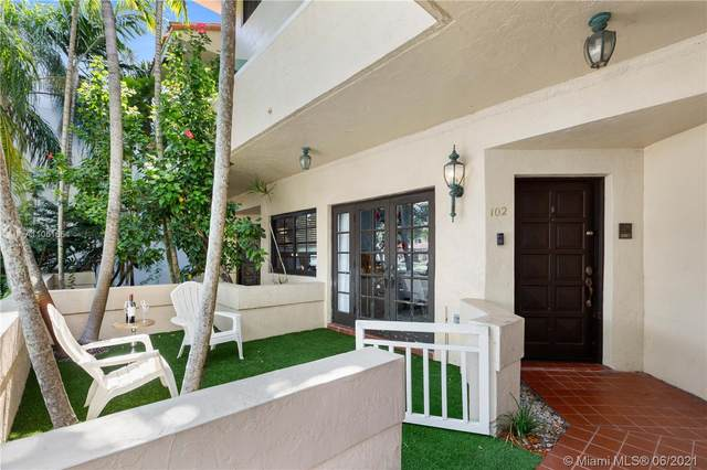 609 Almeria Ave #102, Coral Gables, FL 33134 (MLS #A11051654) :: The Jack Coden Group