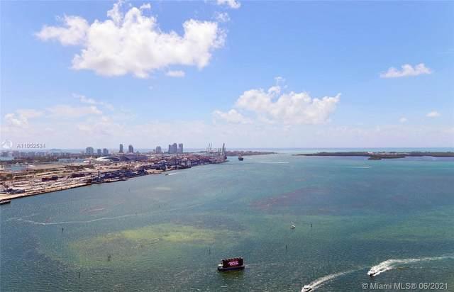 335 S Biscayne Blvd #3609, Miami, FL 33131 (#A11052534) :: Posh Properties