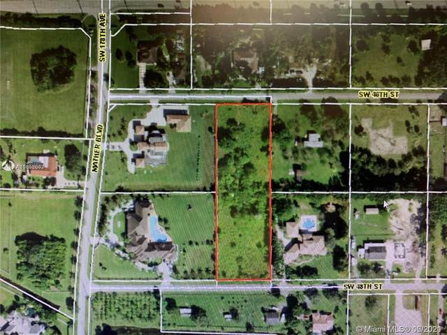 17711 SW 48 Street, Southwest Ranches, FL 33331 (MLS #A11052847) :: THE BANNON GROUP at RE/MAX CONSULTANTS REALTY I