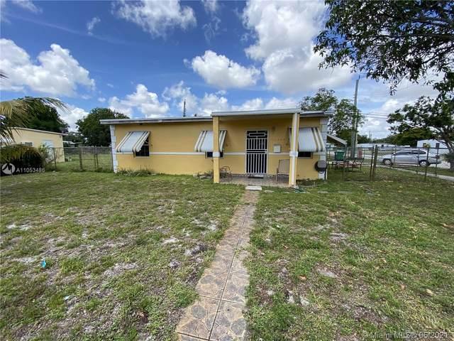16240 NW 19th Ave, Miami Gardens, FL 33054 (MLS #A11053486) :: Team Citron