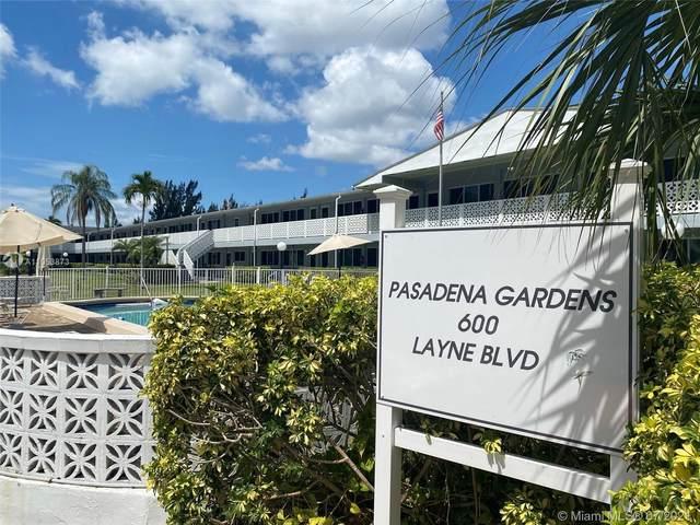 600 Layne Blvd #210, Hallandale Beach, FL 33009 (MLS #A11053873) :: Natalia Pyrig Elite Team | Charles Rutenberg Realty