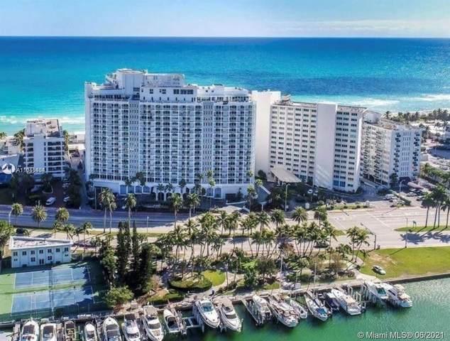 5401 E Collins Ave #341, Miami Beach, FL 33140 (MLS #A11055434) :: The Rose Harris Group