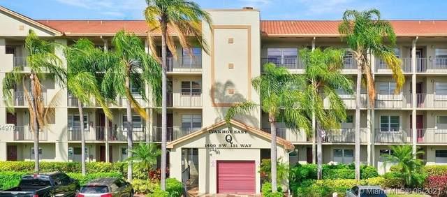 1400 SW 131st Way 304Q, Pembroke Pines, FL 33027 (MLS #A11055745) :: Castelli Real Estate Services