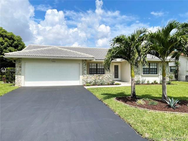 1280 NW 113th Ter, Coral Springs, FL 33071 (MLS #A11057252) :: The Teri Arbogast Team at Keller Williams Partners SW