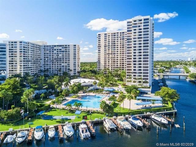 600 Three Islands Blvd #504, Hallandale Beach, FL 33009 (#A11060820) :: Dalton Wade