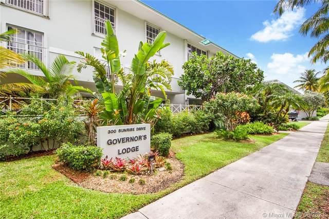 300 Sunrise Dr 1F, Key Biscayne, FL 33149 (MLS #A11062053) :: Castelli Real Estate Services