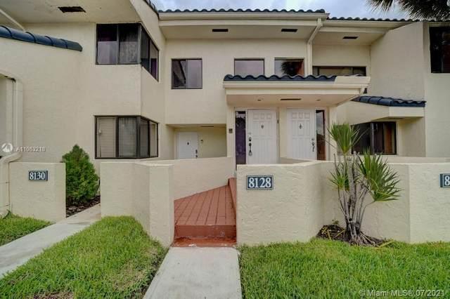 8128 NW 15th Manor #8128, Plantation, FL 33322 (#A11063218) :: Dalton Wade