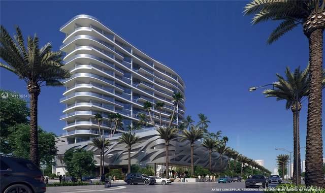 17550 Collins #503, Sunny Isles Beach, FL 33160 (#A11063406) :: Dalton Wade