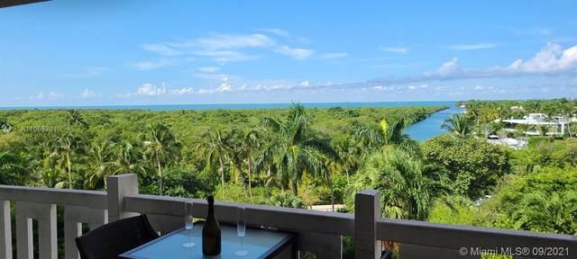 1121 Crandon Blvd D504, Key Biscayne, FL 33149 (MLS #A11065201) :: Green Realty Properties