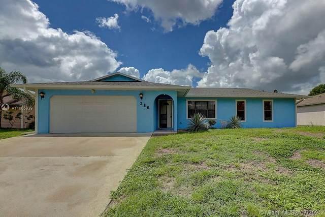286 SE Volkerts Terrace, Port Saint Lucie, FL 34983 (MLS #A11065939) :: Equity Advisor Team