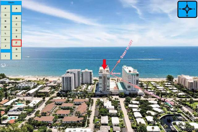 1000 S Ocean Blvd 16F, Pompano Beach, FL 33062 (#A11066750) :: Dalton Wade