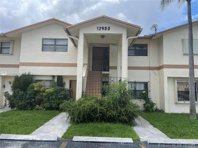 12955 SW 66th Ln 208-2, Miami, FL 33183 (MLS #A11068636) :: The MPH Team