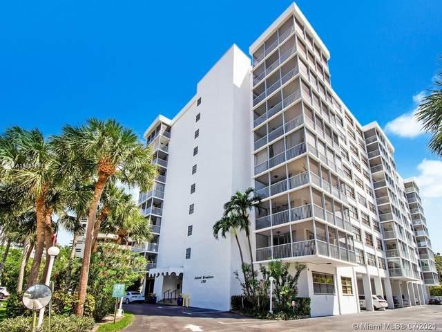 150 Ocean Lane Dr 6H, Key Biscayne, FL 33149 (MLS #A11068891) :: GK Realty Group LLC