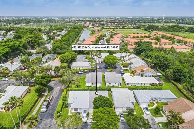 472 SE 20th Dr, Homestead, FL 33033 (MLS #A11072057) :: Castelli Real Estate Services