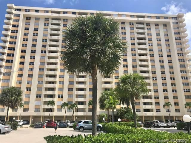 1833 S Ocean Dr #304, Hallandale Beach, FL 33009 (MLS #A11073800) :: GK Realty Group LLC