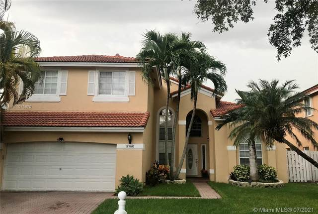 3760 SW 147th Ave, Miramar, FL 33027 (MLS #A11075870) :: Onepath Realty - The Luis Andrew Group