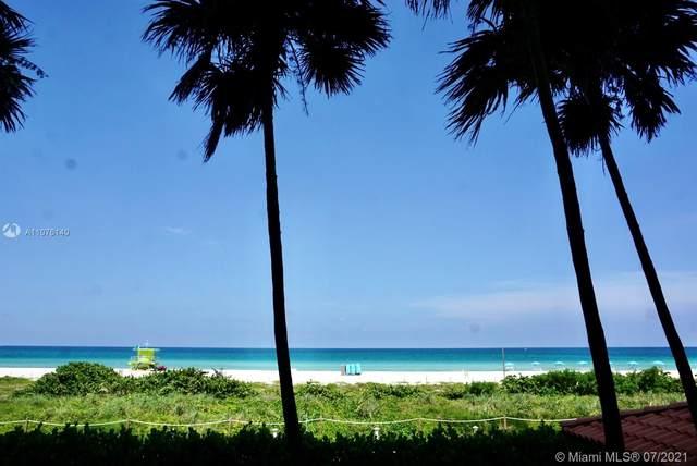 5757 Collins Ave #1807, Miami Beach, FL 33140 (MLS #A11076140) :: Prestige Realty Group