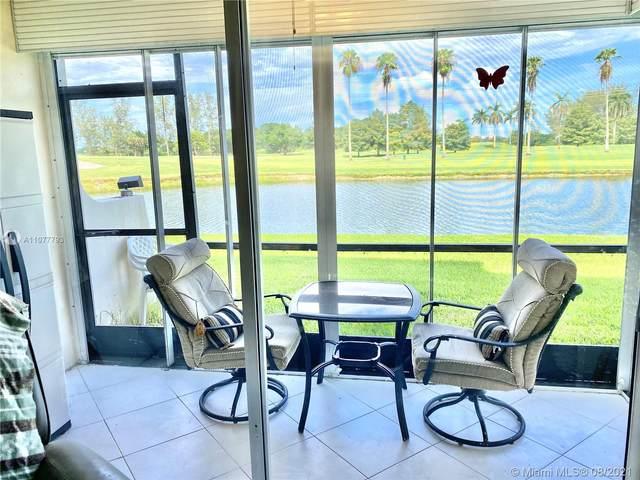 9220 S Hollybrook Lake Dr #101, Pembroke Pines, FL 33025 (MLS #A11077793) :: Berkshire Hathaway HomeServices EWM Realty
