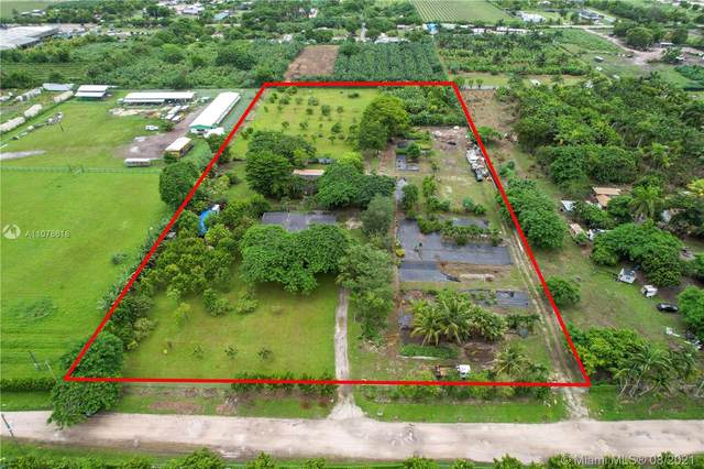 14600 SW 194th Ave, Miami, FL 33196 (MLS #A11078618) :: The Rose Harris Group