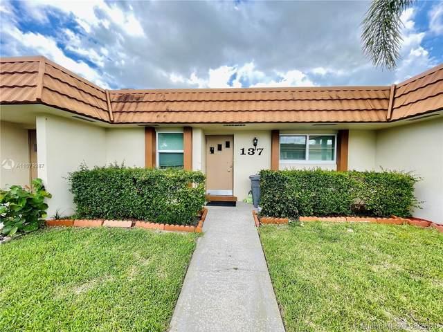 5780 W Fernley Dr W #137, West Palm Beach, FL 33415 (MLS #A11079287) :: Search Broward Real Estate Team