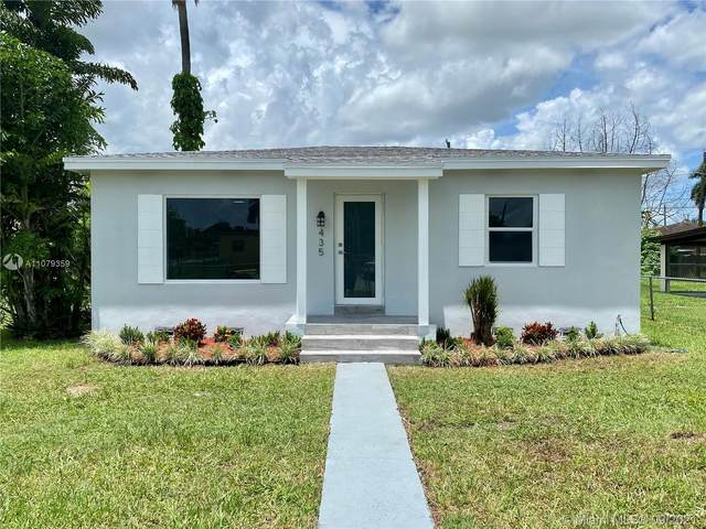 435 NW 6th St, Homestead, FL 33030 (MLS #A11079359) :: Douglas Elliman