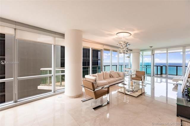 17121 Collins Ave #3608, Sunny Isles Beach, FL 33160 (MLS #A11083969) :: Berkshire Hathaway HomeServices EWM Realty