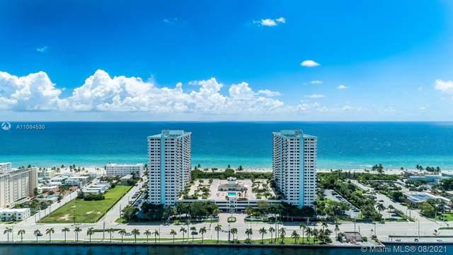 1201 S Ocean Dr 1610N, Hollywood, FL 33019 (MLS #A11084530) :: Equity Advisor Team