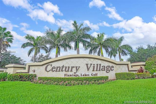 13550 SW 6th Ct 111A, Pembroke Pines, FL 33027 (MLS #A11085492) :: Equity Realty