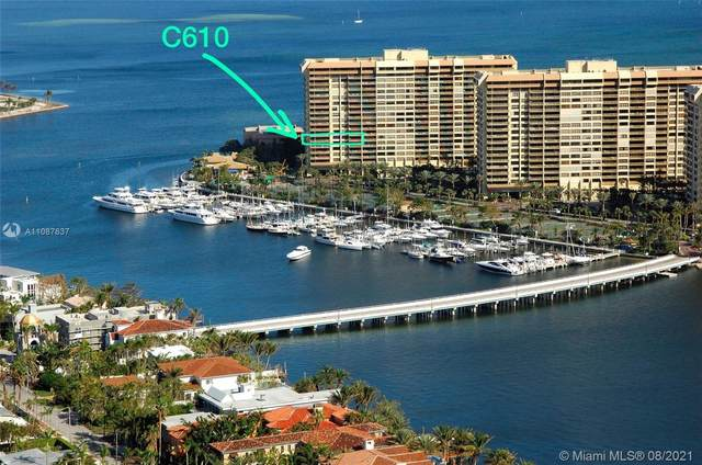 3 Grove Isle Dr C610, Miami, FL 33133 (MLS #A11087637) :: Castelli Real Estate Services