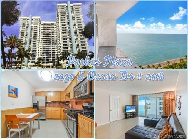 2030 S Ocean Dr #2118, Hallandale Beach, FL 33009 (MLS #A11089262) :: GK Realty Group LLC