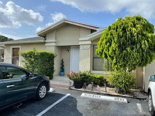 15231 SW 64th Ter 9-31, Miami, FL 33193 (MLS #A11092971) :: GK Realty Group LLC