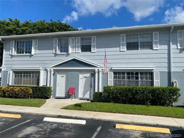8069 SW 18th Pl 2-10, Davie, FL 33324 (MLS #A11093886) :: Castelli Real Estate Services
