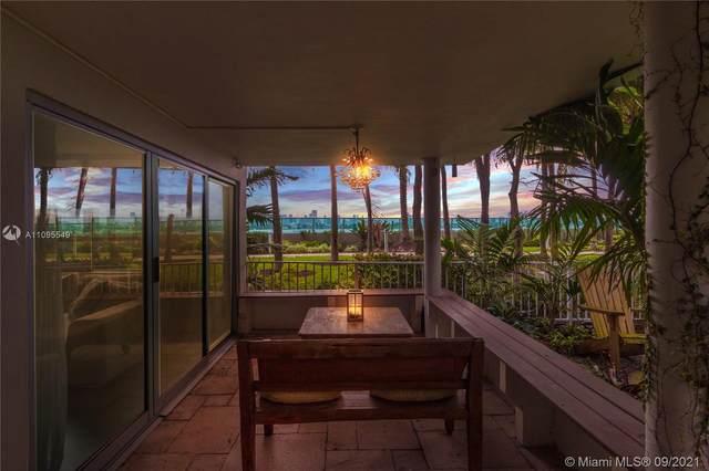 1500 Bay Rd L40s, Miami Beach, FL 33139 (MLS #A11095549) :: Berkshire Hathaway HomeServices EWM Realty