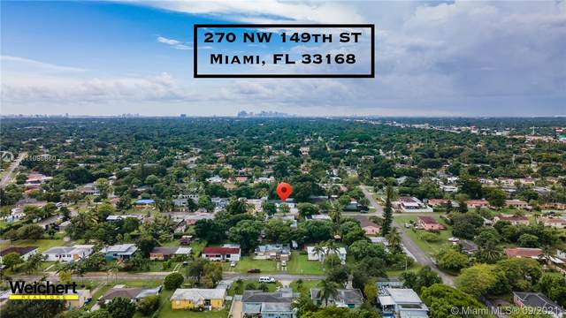 270 NW 149th St, Miami, FL 33168 (MLS #A11096860) :: CENTURY 21 World Connection