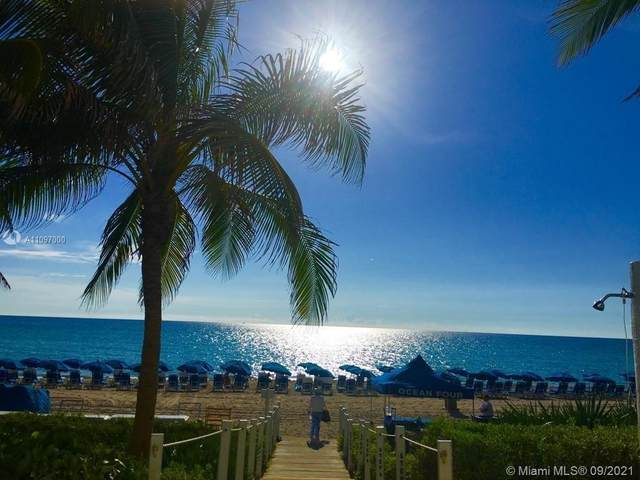 17201 Collins Ave #809, Sunny Isles Beach, FL 33160 (MLS #A11097000) :: The MPH Team