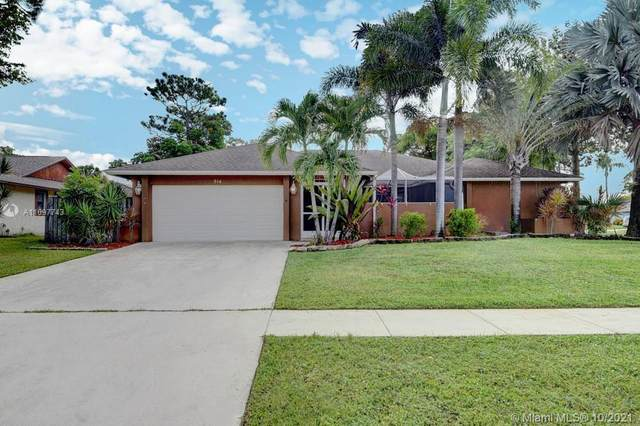 614 Azure Avenue, Wellington, FL 33414 (MLS #A11097743) :: Onepath Realty - The Luis Andrew Group