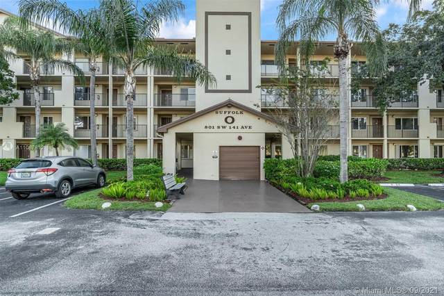 801 SW 141st Ave 105O, Pembroke Pines, FL 33027 (MLS #A11097812) :: GK Realty Group LLC