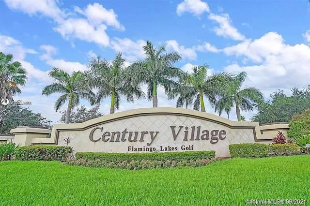 500 SW 130th Ter 406A, Pembroke Pines, FL 33027 (MLS #A11098000) :: GK Realty Group LLC