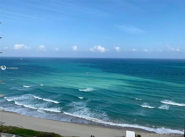 2030 S Ocean Dr #2121, Hallandale Beach, FL 33009 (MLS #A11098242) :: GK Realty Group LLC