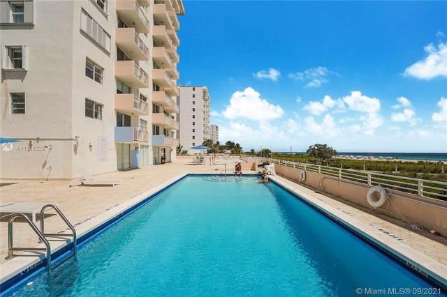 345 Ocean Dr #612, Miami Beach, FL 33139 (MLS #A11098323) :: GK Realty Group LLC